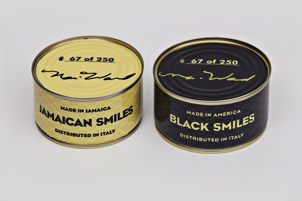 Nari Ward's Canned Smiles / package