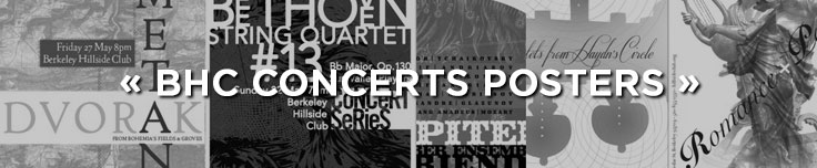 BHC Concerts posters